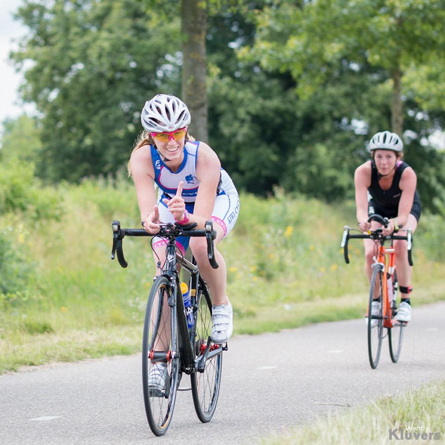 Thriathlon, onderdeel fietsen
